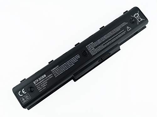 HUARUI 14.4V 5200mAh DTB-DOBM Ersatz Akku für Medion Akoya Laptop MD97938 MD98770 604N00T011107 P7624 MD98157 MD98920 MD98921 MD98970 E7218 MD97872 MD98680 P7812