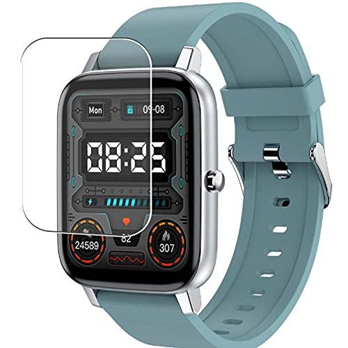 Vaxson 3-Pack TPU Pellicola Protettiva, compatibile con Adhope H80 1.69' smartwatch Smart Watch, Screen Protector Film [ Non Vetro Temperato ]