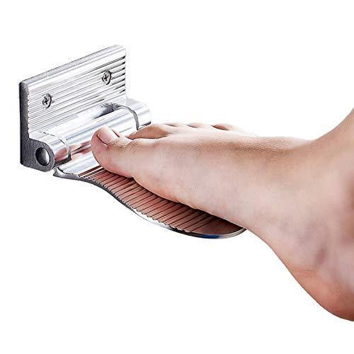 SYHSZ Zapateros De Ducha Montados En La Pared del Baño, Escalones De Ducha En Los Baños De Los Hoteles Domésticos, Taburetes Sencillos para Cambiar Zapatos En La Entrada,Plata