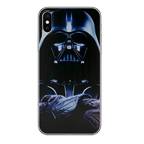 I-CHOOSE LIMITED Star Wars Case Handyhülle für Apple iPhone X/10 mit Schirmschutz/Gel/TPU/Darth Vader