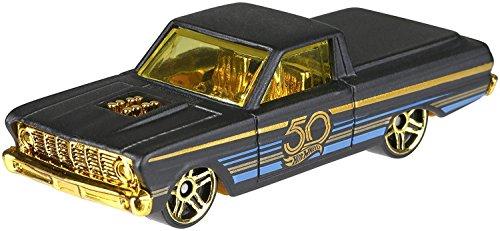 HW Hotwheels 50th Anniversary Negro y Oro FRN39 – 1965 Ford Ranchero 6/6
