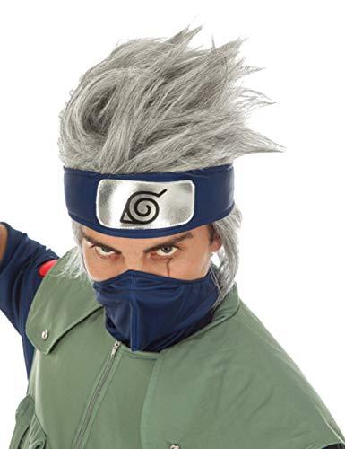 Generique - Naruto Kakashi Hatake-Perücke Lizenz grau