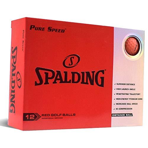 Spalding Pure Speed 12 Bälle – Rot