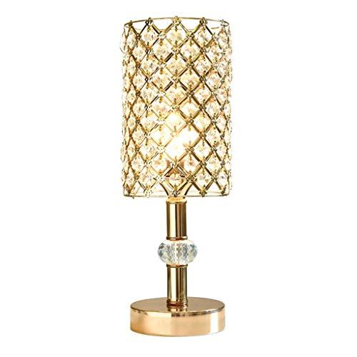 ZJX-F Lámpara de Mesa de Cristal Europea Moderno Minimalista Control Remoto Dormitorio Lámpara de Cama Lámparas de Escritorio Lámparas Escritorio Luces Creativa Pastoral Dimensión Oficina Comedor