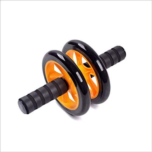 YUIO Bauchrad Ab Rollers Fitness Taille und Bauch Übung Rad Bauch Bauch für Fitnessgeräte (gelb)