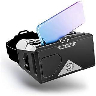 Casque Merge AR/VR (édition EU) - Allez partout - Voyages en réalité virtuelle et apprentissage grâce à la réalité mixte -...