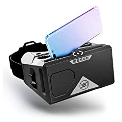 Go Anywhere with the Merge Headset - find apps and experiences at Merge Miniverse online; explore the solar system, walk with dinosaurs, take virtual field trips and more; works with Google Expeditions VR Headset for kids, classrooms, libraries, onli...