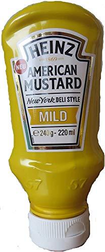Heinz American Mustard Mild (220 ml)