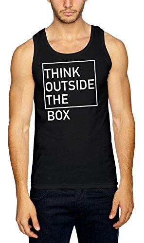 Think Outside The Box Débardeur Noir-L