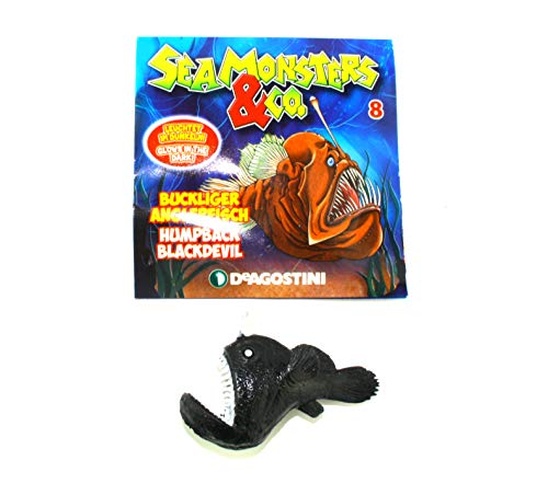 Seamonsters & Co. Edition - Wähle aus Allen 21 Figuren (8. Buckliger Anglerfisch / Humpback Blackdevil)