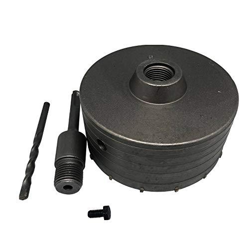 Lochsäge Bohrkrone Dosenbohrer 125mm SDS Plus für Beton Ziegel Stein Marmor 16Z