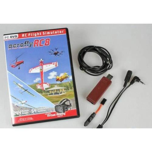 ikarus Simulator AeroflyRC8 +Interface FUT/Spek