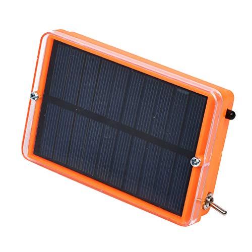 Excras Smart Ultraschall-Vogelschreck, solarbetrieben, automatische Vogelabwehr