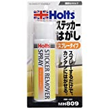 ホルツ ステッカー・シール剥がし ステッカーリムーバースプレー 100ml 専用ヘラ付き Holts MH809