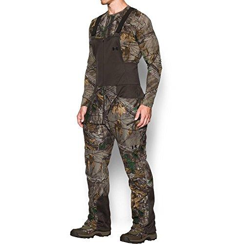 Under Armour Men's Stealth Fleece Bib,Realtree Ap-Xtra (947)/Black, XX-Large