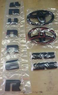 2015 - 2016 SOUTHEAST TOYOTA 4RUNNER BLACK OVERLAY BUNDLE KIT 00016-89016