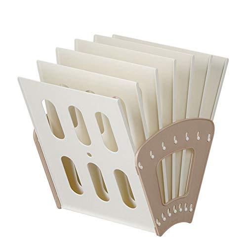 Z-SEAT Amovible en Plastique Bureau Bureau A4 Fichier Rack Bureau Papier Organisateur Étagère Magazine Livre Boîte De Rangement Cas Titulaire Plateau de Documents