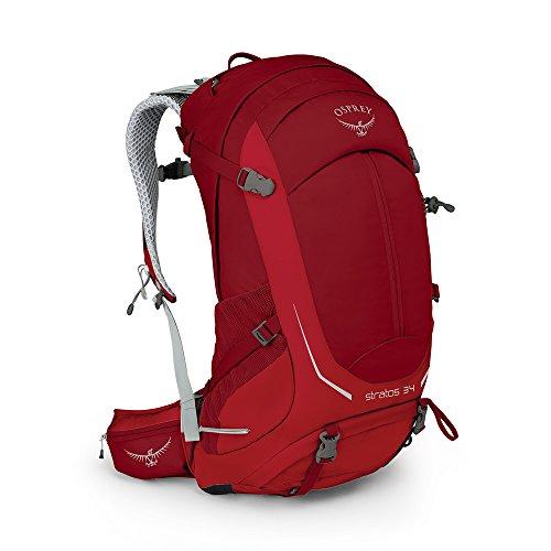 Osprey Packs Stratos 34 Herren Wanderrucksack Small / Medium Beet Rot