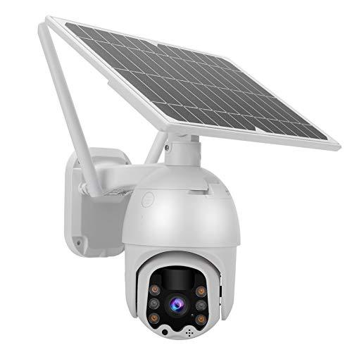 Jeanoko Cámara de intercomunicación inalámbrica bidireccional de visión Nocturna a Todo Color WiFi para Sistema de Monitor de Seguridad al Aire Libre