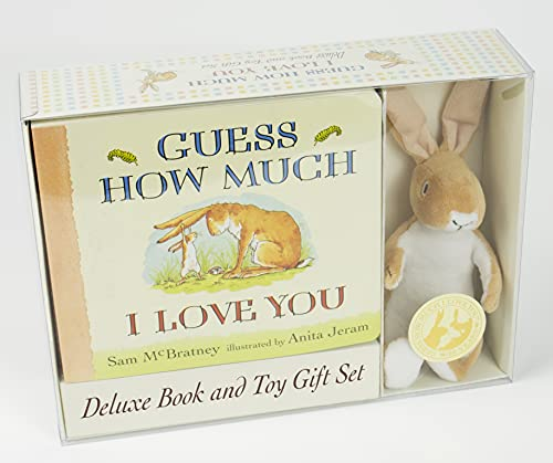Guess How Much I Love You: Deluxe Book and Toy Gift Set