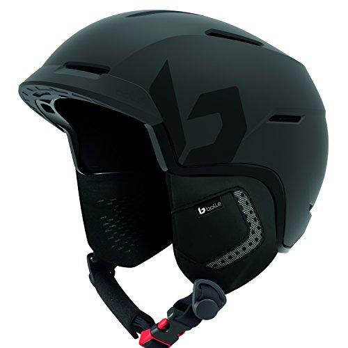 bollé - Casque De Ski/Snow Motive Full Black 55-59cm - Homme - Taille 55/59 - Noir