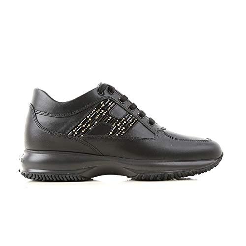 Hogan Sneakers Donna Hxw00n0by00i85b999 Pelle Nero