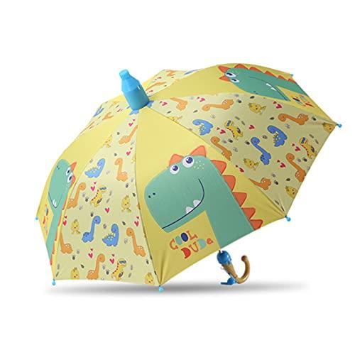 Paraguas Niños Preciosa Lluvia Sombrillas C Oon Paraguas Niños Rainbow Paraguas Semi Automático, B