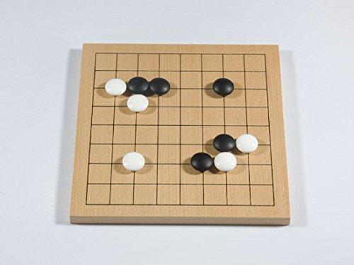 Spiel Buchenfurnierbrett 9x9