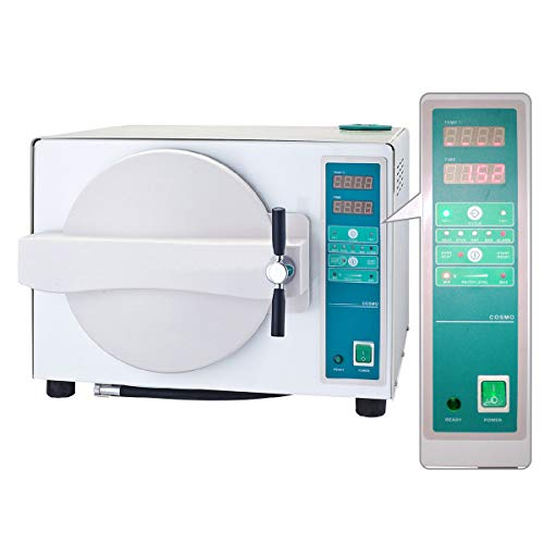East 18L Portable Steam Autoclave Lab Equipment 900W Updated with Drying Function