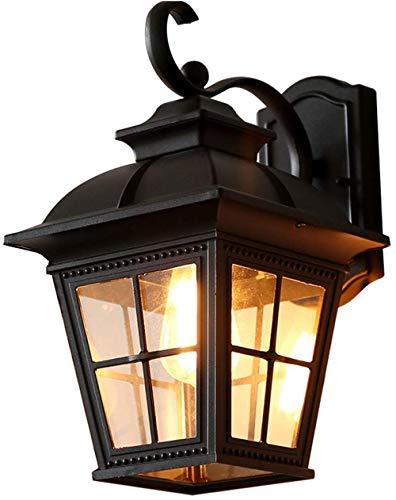 Buitenwand, waterdicht, balkon, wandlamp, plaat, gegoten aluminium, tuin, binnen- en buitendeur, licht-tuin-corridor-verlichting in de open lucht