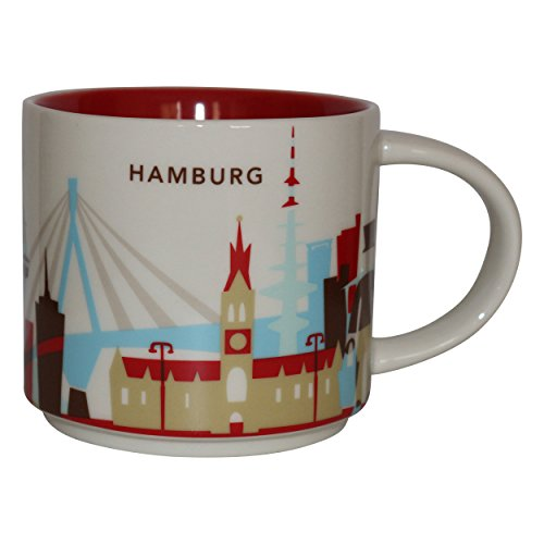 Starbucks Usted está aquí Colección Taza de café de la taza de café de Hamburgo