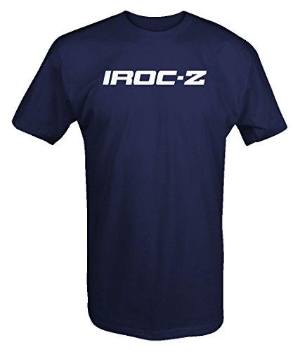 M22 Garage Shirt IROC-Z Camaro Emblem T Shirt - XLarge Navy