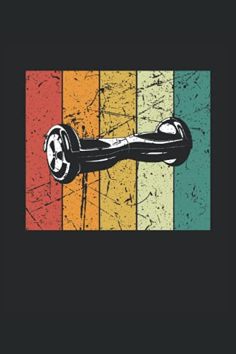 Hoverboard E-Board Geschenk Notizbuch