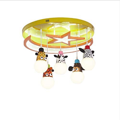 LED-kroonluchter voor kinderkamer, moderne kroonluchter voor baby's, jongens en meisjes, om op te hangen, kinderlamp