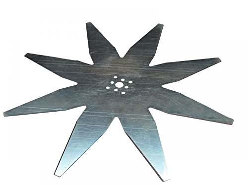 'Cuchillo de estrella Ambrogio Robot cortacésped