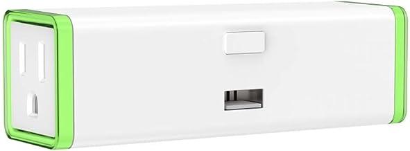 Zooz Z-Wave Plus S2 Double Plug ZEN25, 2 Outlets, 1 USB Port