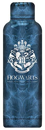 POS 33441 - Botella de Agua con diseño de Harry Potter de Acero Inoxidable, Doble Pared aislada al vacío, Capacidad de 515 ml, Ideal para Viajes, guardería y Deportes, para niños y niñas