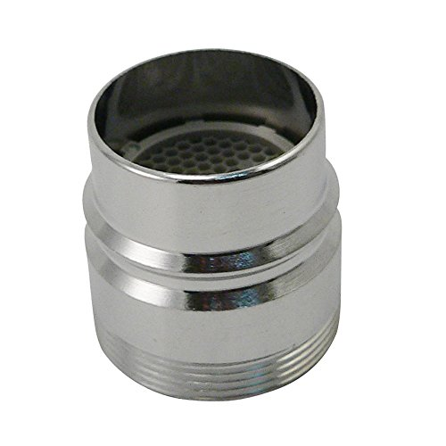 Plumb Pak PP28003 Faucet Aerator Adapter, for Use with Dishwashers with Large Snap-On Couplings, Chrome
