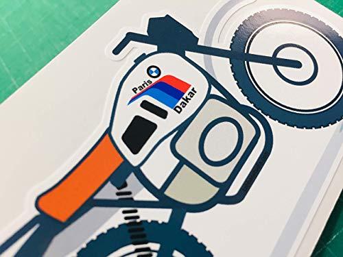Adesivo riproduzione R80 GS G/S Paris Dakar
