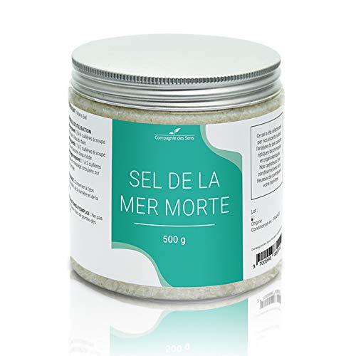 Sel de la Mer Morte - La Compagnie des Sens - 500g - Sel pour le bain, gommages, bain de pieds