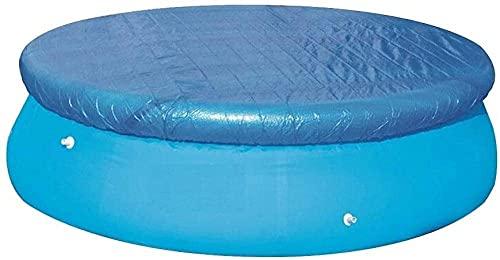 WDSZXH Cubierta de piscina cubierta de piscina cubierta de piscina solar cubierta de toldos Cape en la piscina Conjunto fácil para piscinas de marco Natación inflable Conjunto rápido Piscina Pájaro Pá