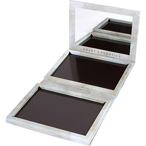 Marble Extra Large Empty Magnetic Makeup Palette Holds 70 Standard Magnetic Eyeshadows and Comes with FREE Magnetic Stickers. Depot your Highlighters, Blushes, Powders and more
