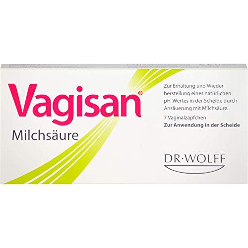 Vagisan Milchsäure Vaginalzäpfchen, 7 St.