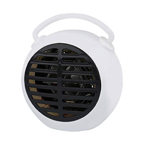 CENT Calefactor Eléctrico Mini Calentador Personal Ventilador de Calentadores Portátiles para Oficina Hogar