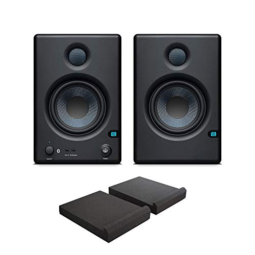 Buy Discount Presonus Eris E4.5 BT Active Media Reference Monitors (Pair) with Free Isolation Pads
