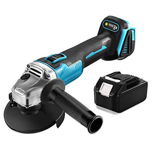 SEESII Angle Grinders, 18V Cordless Grinder Tool with 3.0Ah...