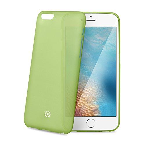 Celly Frost Custodia Leggera per iPhone 7 Plus, Verde Limone