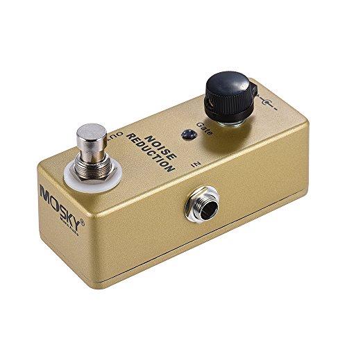 Bedler MP-40 Noise Gate Noise Reduction Suppressor Mini Einzel Gitarren-Effekt-Pedal True Bypass-Goldfarbe