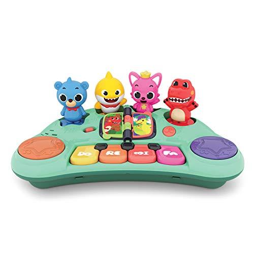 WFF Spielzeug Baby, das früh pädagogische Spielwaren, Multifunktionskinder elektronisches Klavier, Kleinkind Baby Klavier Spielzeug -Writable Lernspielzeug (Color : 2pieces)