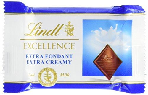 Lindt Vollmilch Minischokoladentäfelchen - Extra Cremig, 385g